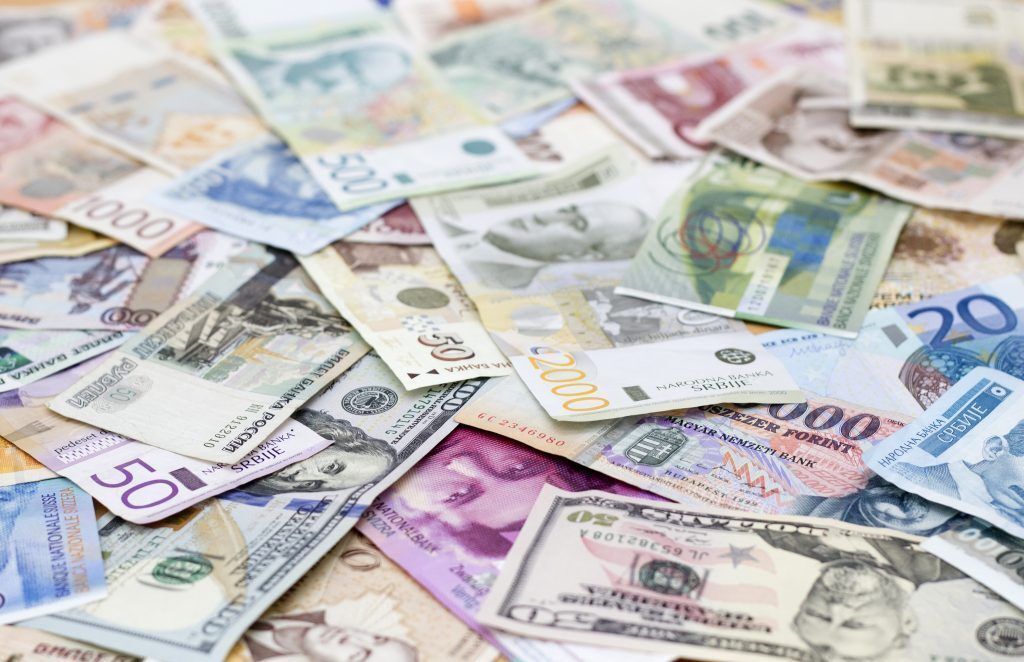 Currencies Available